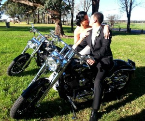 wedding harley davidson