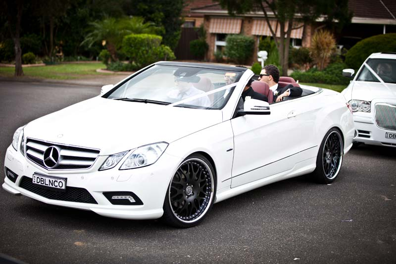 Mercedes maserati wedding cars deblanco for Mercedes benz sydney service